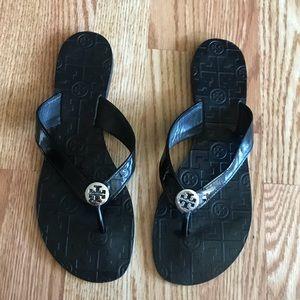 Tory Burch Black Sandals